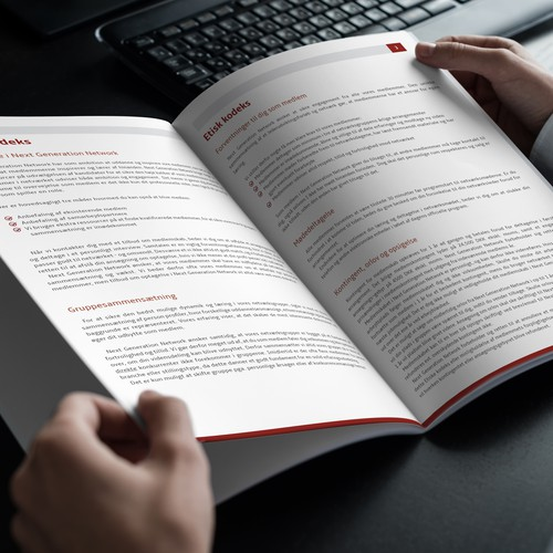 Ethical code of conduct - Brochure design