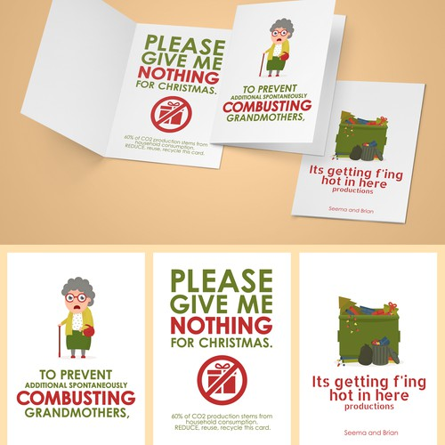 Greeting Card Deisgn: Empower people to make enviornmental choices