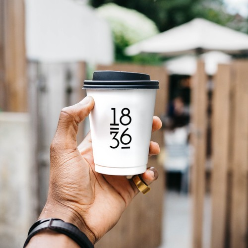 Number logo for coffee brand