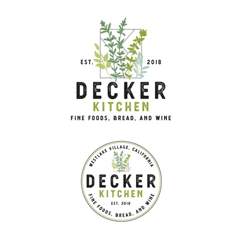 Branding Concept for Decker Kitchen