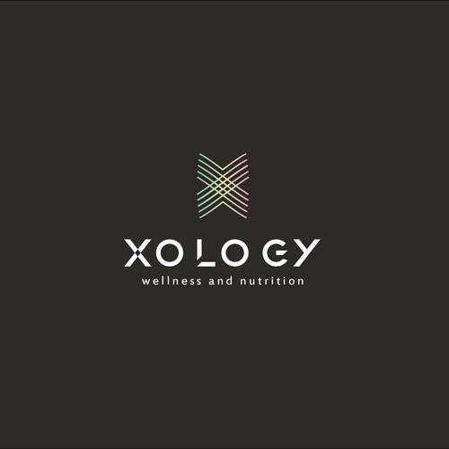Concept logo for wellness&nutrition company