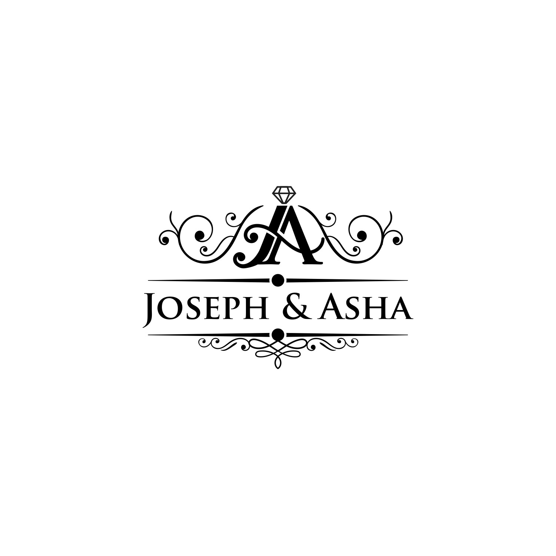 Design A Sophisticated Logo For The Wedding of Joseph & Asha
