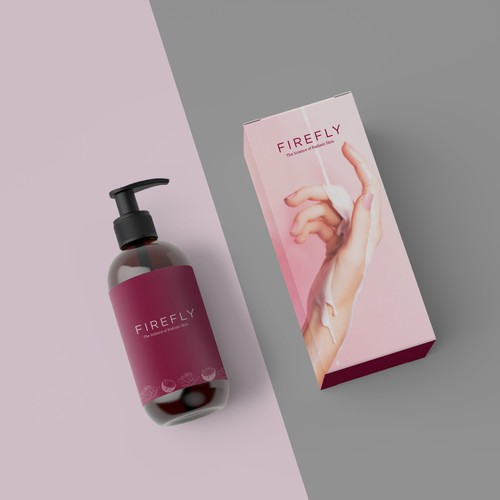 Lotion package design concept