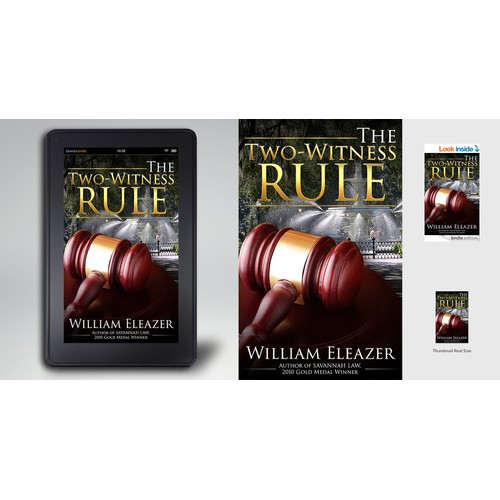 """eBook Cover """"The Two-Witness Rule"""""""