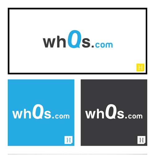 Create a logo for wh0s.com