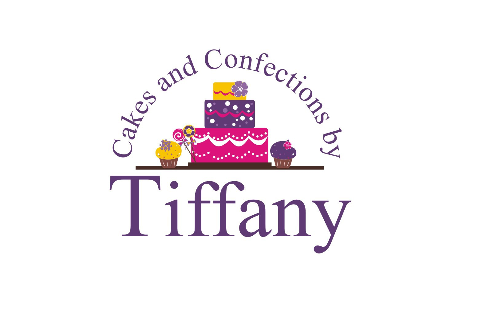 logo for Cakes and Confections by Tiffany
