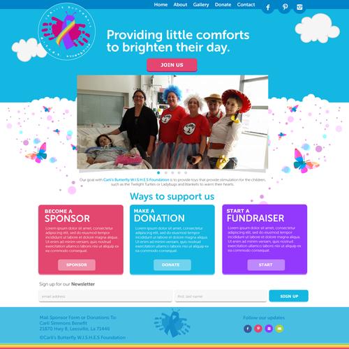 Children's Foundation Website Design