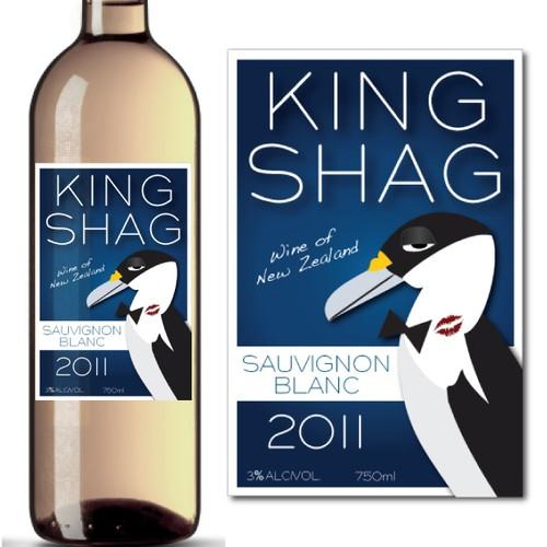 Wine label design for Coopers Creek Vineyard