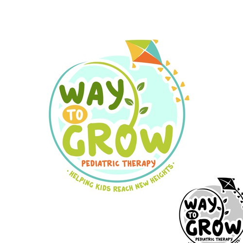 Logo design for Way to Grow