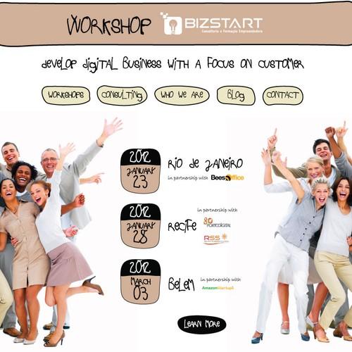 Web design for Bizstart