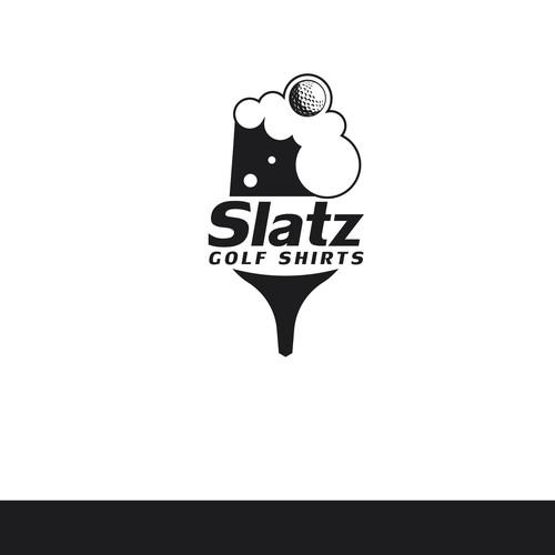 Slatz Golf Logo Concept