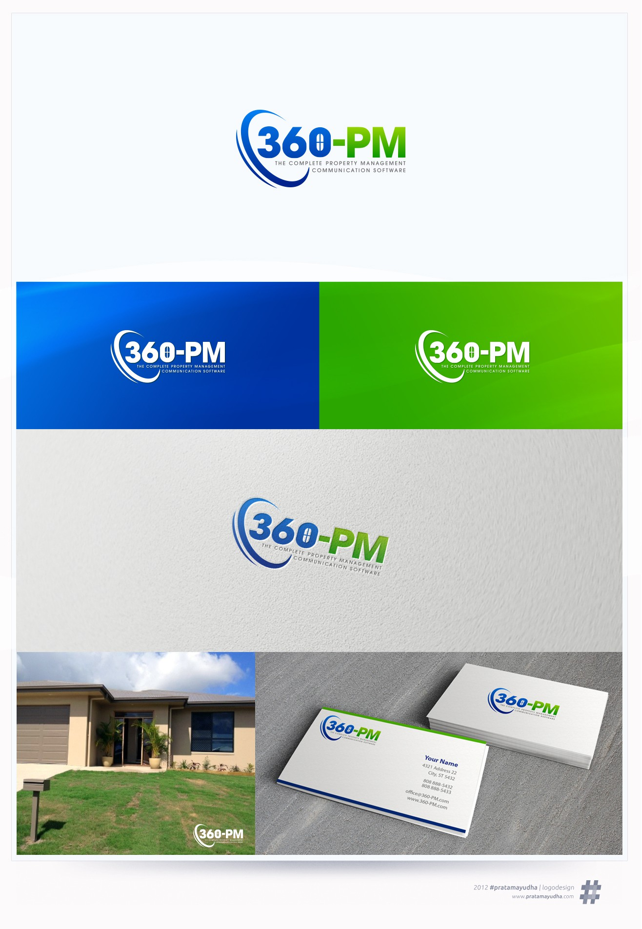 Create the next logo for 360-PM