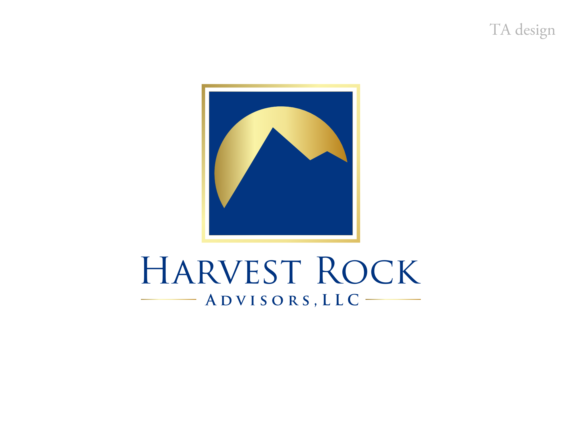 Harvest Rock Advisors needs a new logo