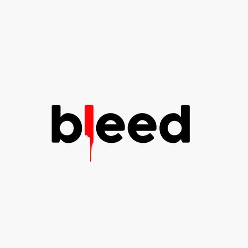 bleed wordmark