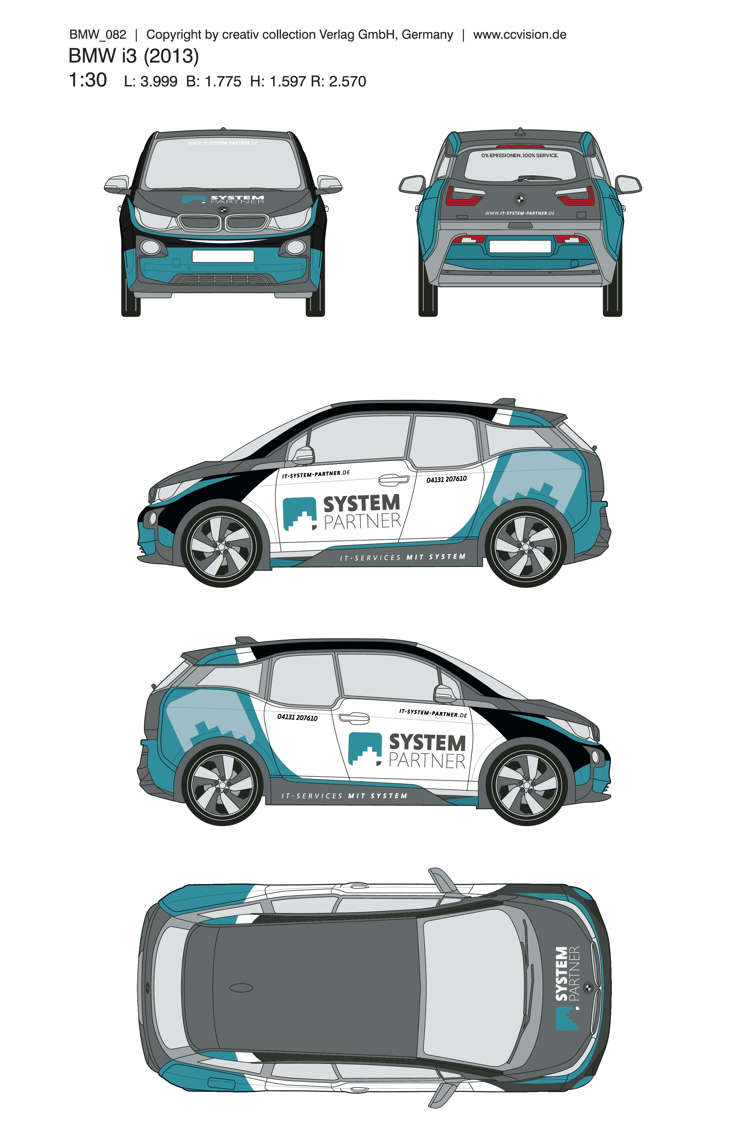 Be creative and design our car branding! And if you suceed: We have more than one car...;)