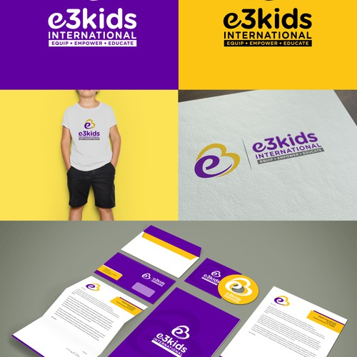 E3kids international logo