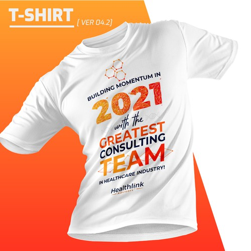 2021 T shirt design for Healthlink Advisors