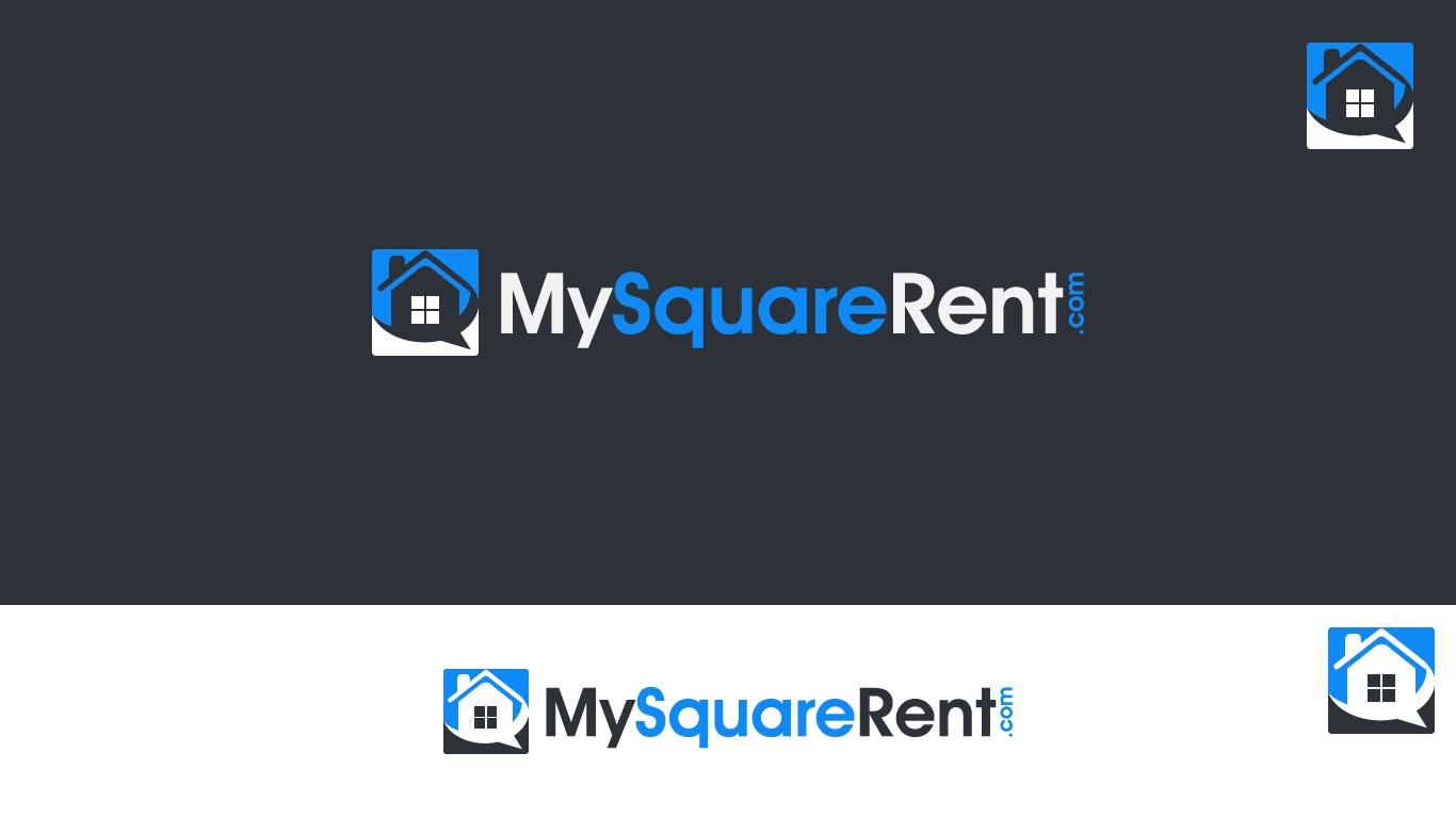 logo for MySquareRent.com