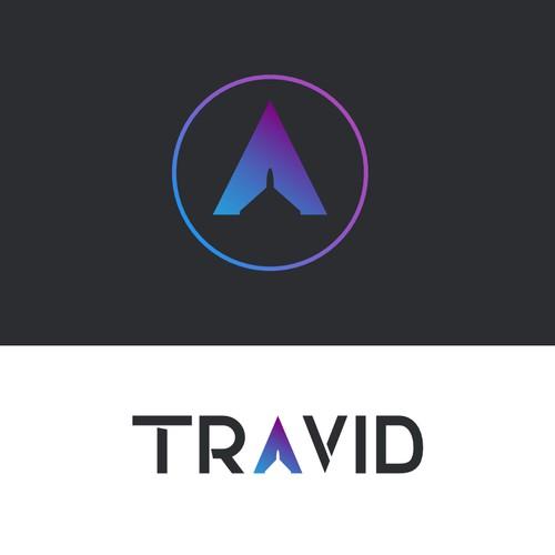 Logo concept for travel app