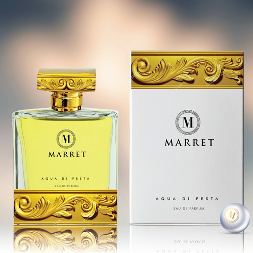 Fragrance label and box design
