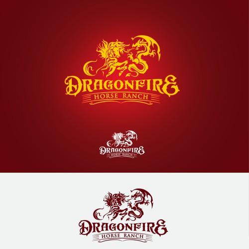 Dragonfire logo concept