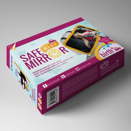 Packaging design for Baby Product