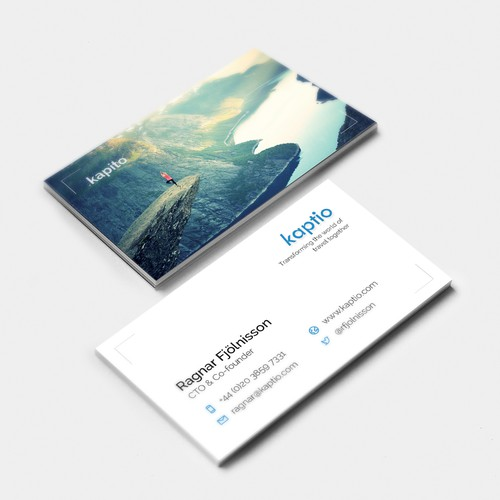 Business Card proposal for Kapito