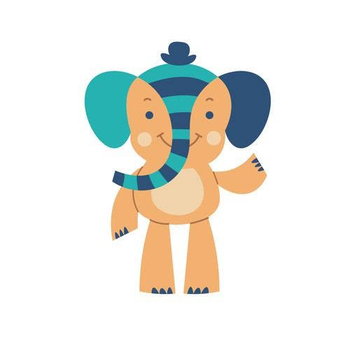 Elephant Character for kids