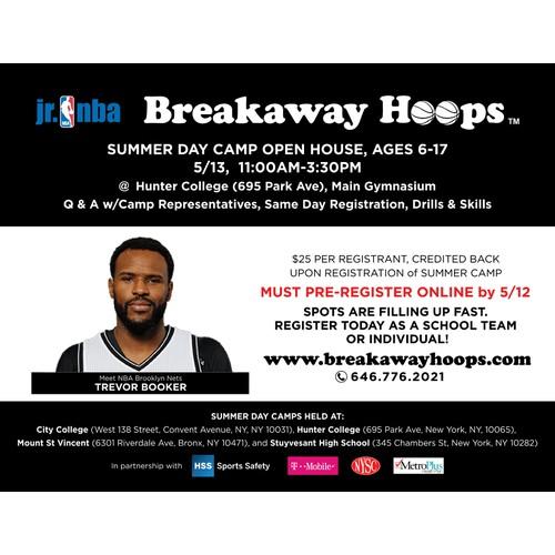 Breakaway Hoops Print Ad
