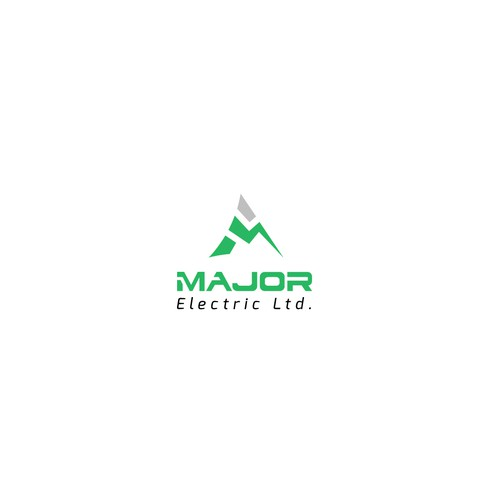 Major Electric Company Logo Design