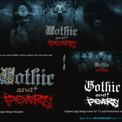 Logo/Banner for GothicAndFears.com