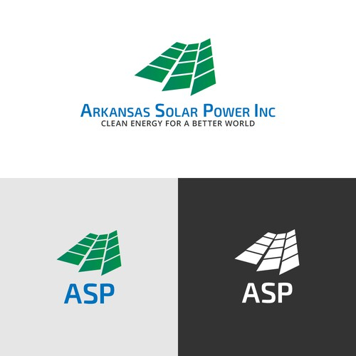 Logo for a solar energy comapny