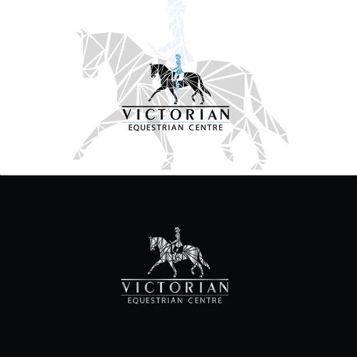 Logo for equestrian centre in Australia