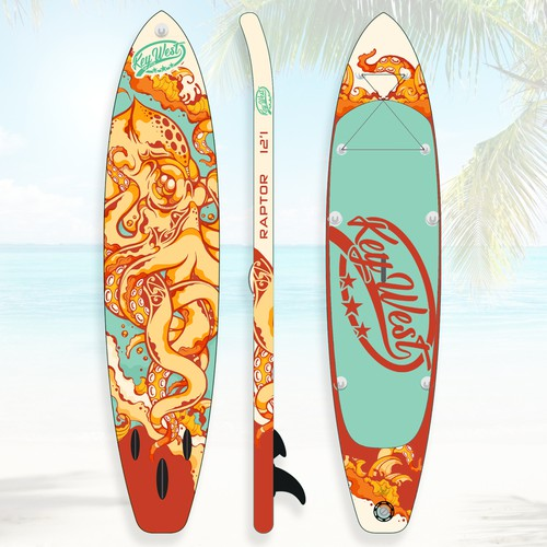 Stand up paddle board Design