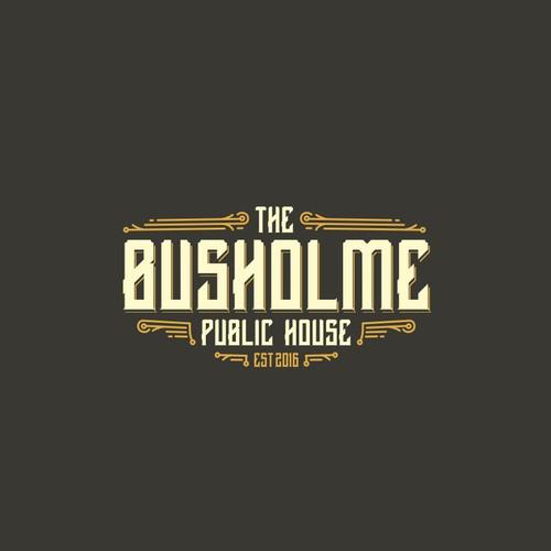 Logo for vintage restaurant.