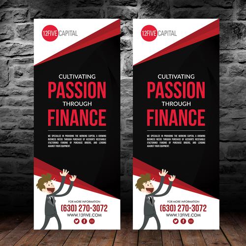 Creative Modern Banner for Anti Finance Company