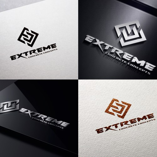 Logo for concrete floor company