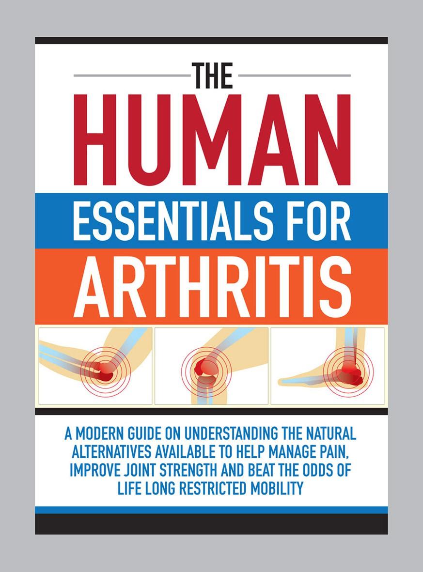 """An E-book Design """"The Human Essentials for Arthritis"""""""