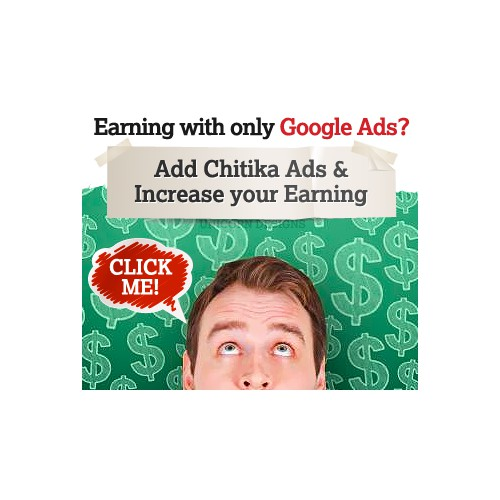 Help Chitika with a new banner ad