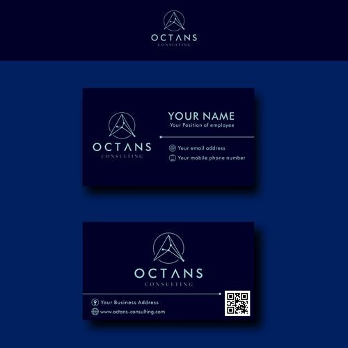 Octans Consulting Logo Design