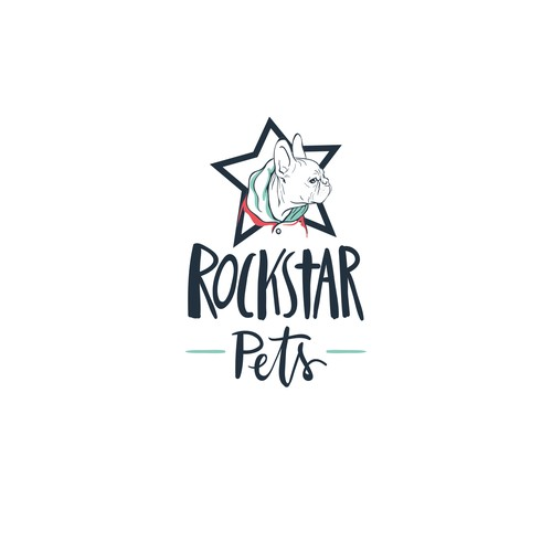 Logo for a pet accessoire shop