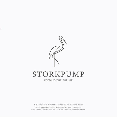 Logo design for Storkpump