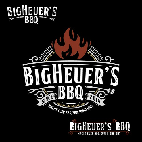 BigHauer`s BBQ sauce logo