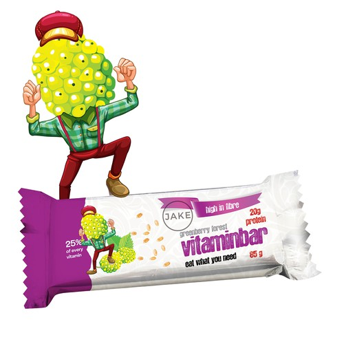 concept for vitaminbar packaging