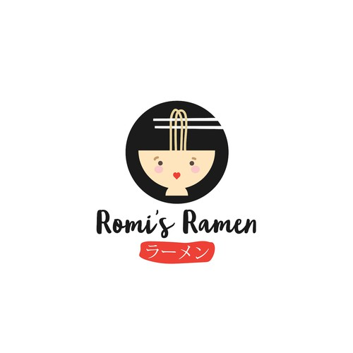 Fun logo for Ramen Restaurant