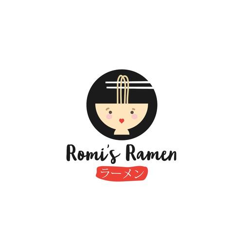 Fun logo for Ramen Restaurant