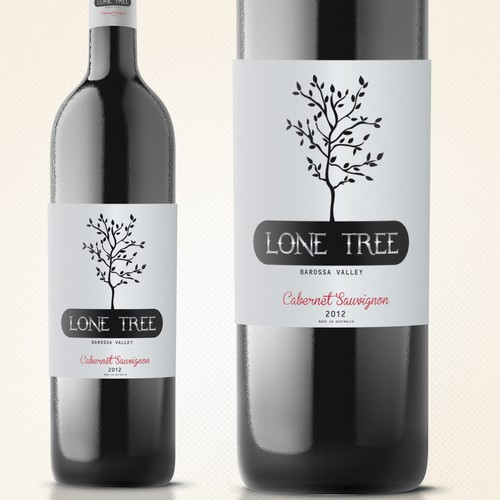 Wine label for our new online brand