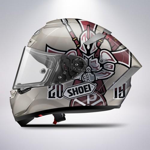 Shoei Helmet Custom Design