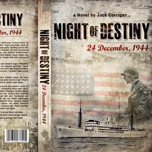 Create a book cover that will honor WWII heroes and help tell a little known story