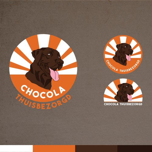 Funky logo for Chocolate Delivery Company